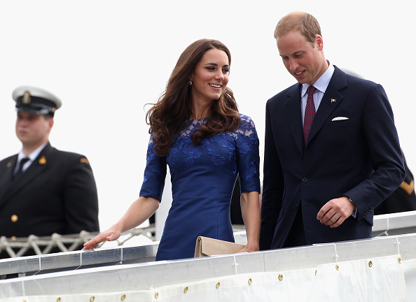 Lace Dress「The Duke And Duchess Of Cambridge Canadian And North American Tour - Quebec」:写真・画像(9)[壁紙.com]