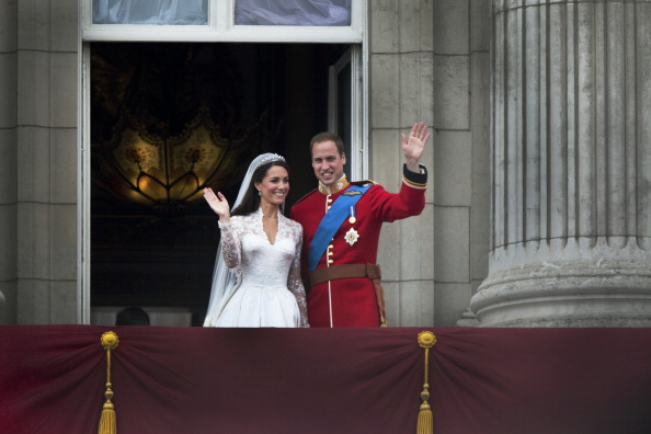 Royal Wedding of Prince William and Catherine Middleton「Royal Couple On Balcony」:写真・画像(12)[壁紙.com]