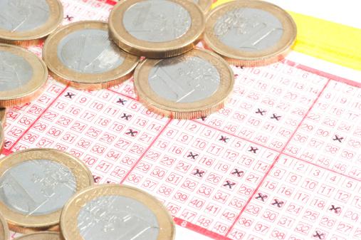 金運「ロット-mit Münzen Lottoschein」:スマホ壁紙(5)