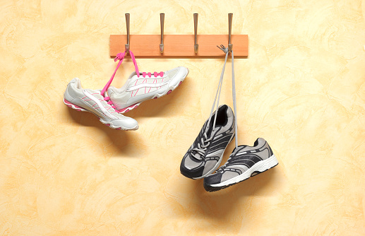 Shoe「His and hers keep fit trainers」:スマホ壁紙(10)