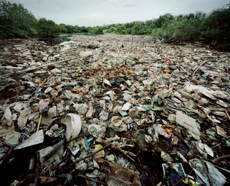 Deterioration「River of rubbish, Bali」:スマホ壁紙(9)