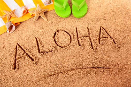 Flip-Flop「Aloha beach writing」:スマホ壁紙(18)