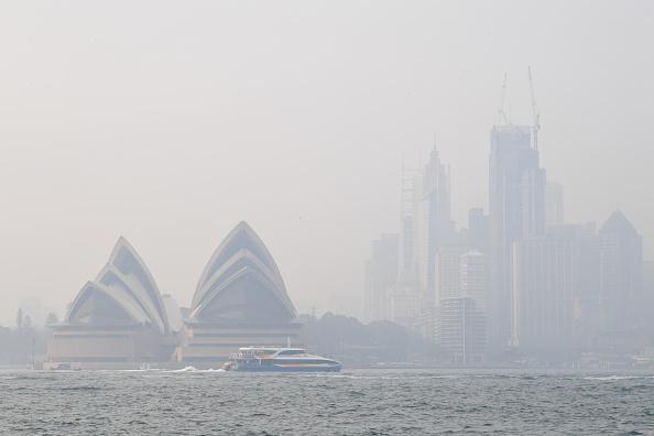 Sydney「Smoke Haze Over Sydney As Fire Danger Risk Heightens」:写真・画像(17)[壁紙.com]