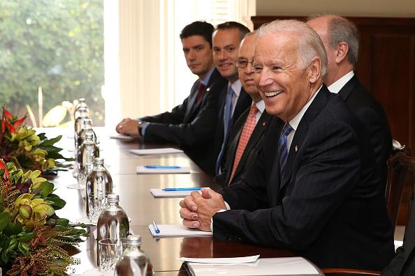 Government Building「United States Vice President Joe Biden Visits New Zealand」:写真・画像(13)[壁紙.com]