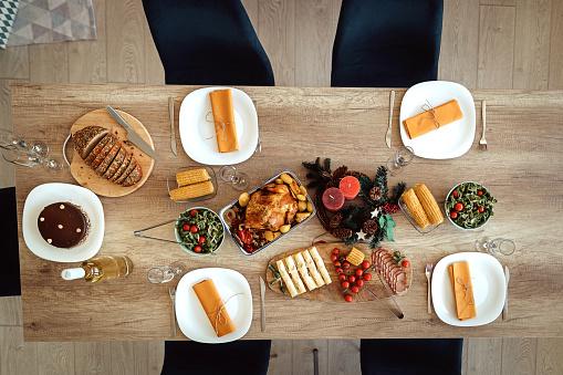 Party - Social Event「Food and drink arrangement for Christmas celebration」:スマホ壁紙(4)