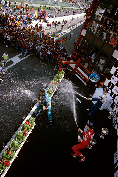 Spa「Michael Schumacher, Mika Hakkinen, Damon Hill, Grand Prix Of Belgium」:写真・画像(18)[壁紙.com]