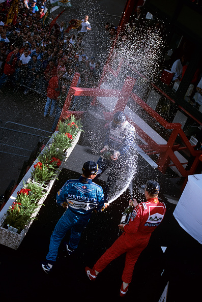 Spa「Michael Schumacher, Mika Hakkinen, Damon Hill, Grand Prix Of Belgium」:写真・画像(19)[壁紙.com]