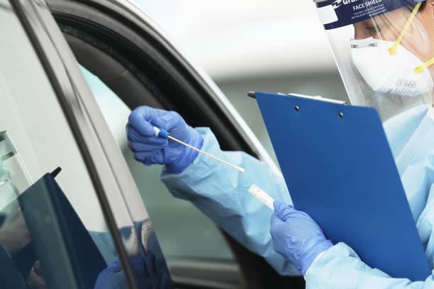 Drive Through Coronavirus Testing Clinic Set Up At Bondi Beach:ニュース(壁紙.com)
