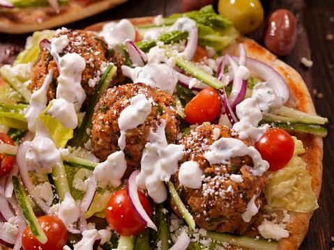 Taco「100% Lamb -Greek Meatball Souvlaki Wrap」:スマホ壁紙(7)