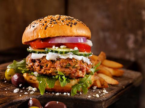 Cheeseburger「100% Lamb -Greek Burger」:スマホ壁紙(17)
