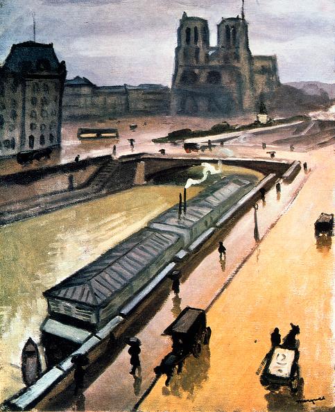 Overcast「Rainy Day Notre Dame De Paris」:写真・画像(1)[壁紙.com]