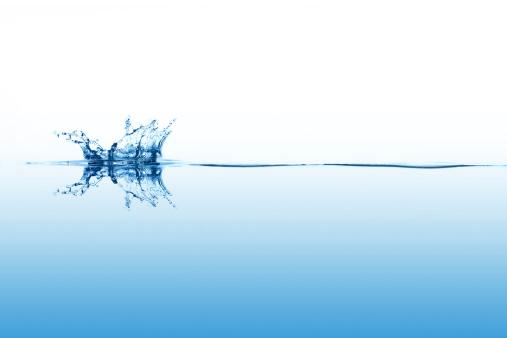 Water Surface「Smal splashing on calm surface of the water」:スマホ壁紙(1)