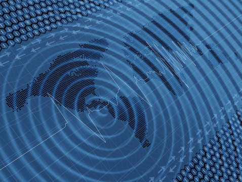 Earthquake「Earthquake wave seismic activity」:スマホ壁紙(7)