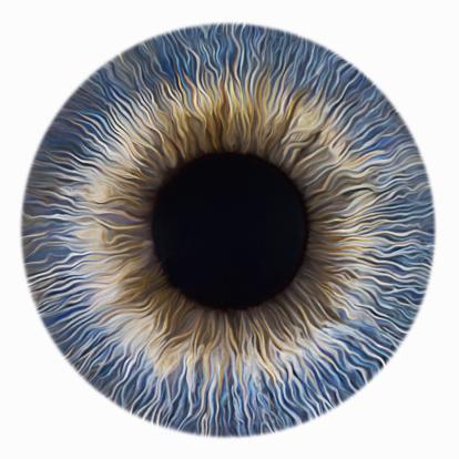 Iris - Eye「BlueIris」:スマホ壁紙(6)