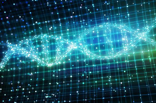 Quantum Computing「Graphical representation of DNA chain」:スマホ壁紙(13)