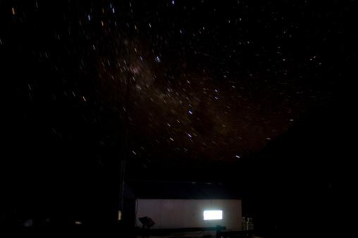 アコンカグア山「Starry night」:スマホ壁紙(7)