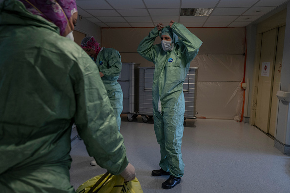 Veronique de Viguerie「Coronavirus Takes High Toll In Grand Est Region, Epicenter Of Country's Outbreak」:写真・画像(10)[壁紙.com]