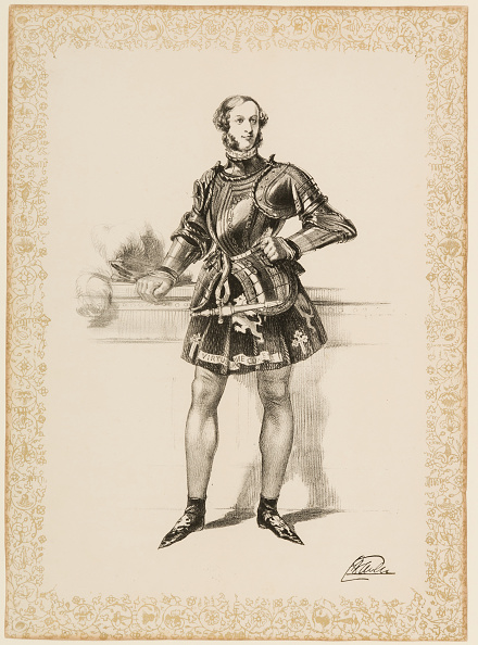 Stationary「Print Of William 2Nd Earl Of Craven In Costume Worn At Eglinton Tournament 1839. Creator: Unknown.」:写真・画像(16)[壁紙.com]