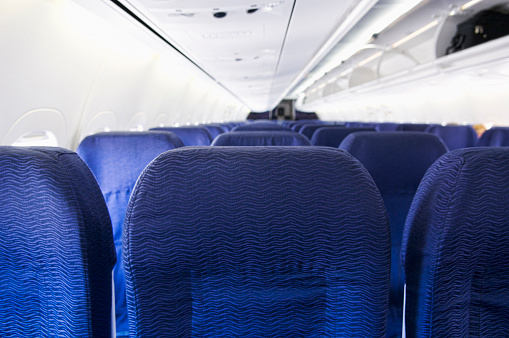 Beginnings「Empty airplane cabin」:スマホ壁紙(10)