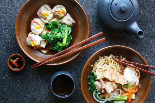 Dim Sum「Asian noodles and dumplings」:スマホ壁紙(19)