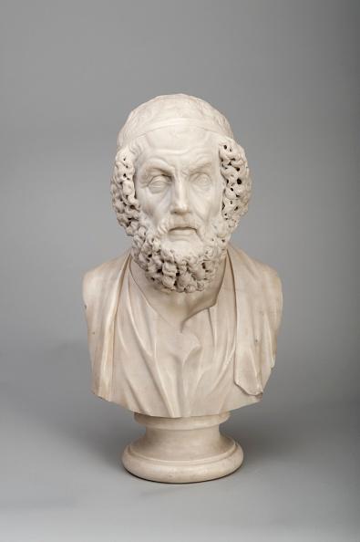 Bust - Sculpture「Marble Bust Of The Ancient Greek Poet Homer」:写真・画像(6)[壁紙.com]