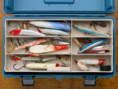 Hook - Equipment「Blue Tackle Box」:スマホ壁紙(1)