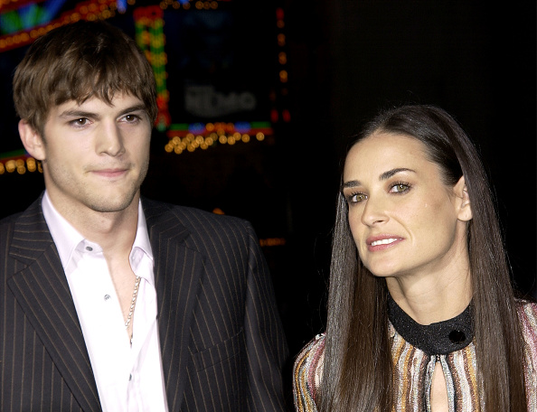 Charlie's Angels「Ashton Kutcher and Demi Moore」:写真・画像(0)[壁紙.com]