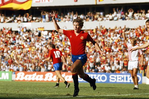 Denmark「Emilio Butrague?o Spain 1986 World Cup」:写真・画像(14)[壁紙.com]