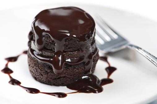 Dessert Topping「Warm Chocolate Cake」:スマホ壁紙(19)