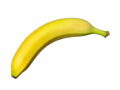 Tasting「Fresh banana (path), isolated on white background」:スマホ壁紙(18)