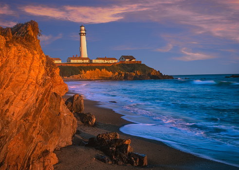 California State Route 1「Pigeon Point Lighthouse at Pescadero, CA」:スマホ壁紙(12)