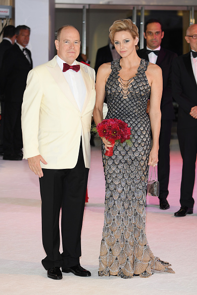 Metallic Dress「70th Monaco Red Cross Ball Gala In Monaco」:写真・画像(14)[壁紙.com]