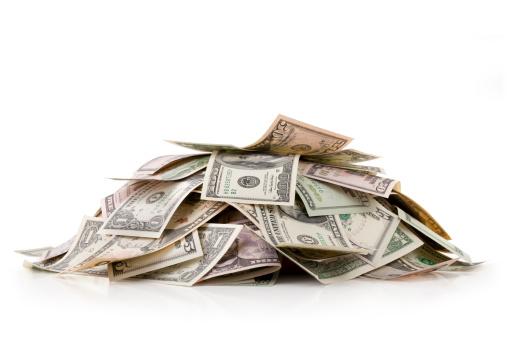 Heap「Heap of money. Dollar bills.」:スマホ壁紙(14)