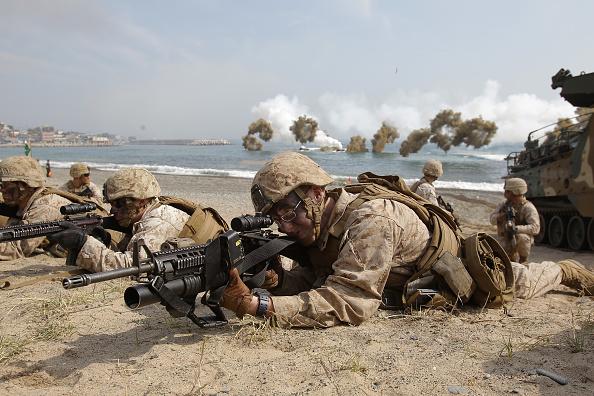 Infantry「U.S. and South Korean Marines Hold Joint Landing Operation」:写真・画像(10)[壁紙.com]