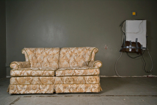Floral Pattern「derelict couch」:スマホ壁紙(7)