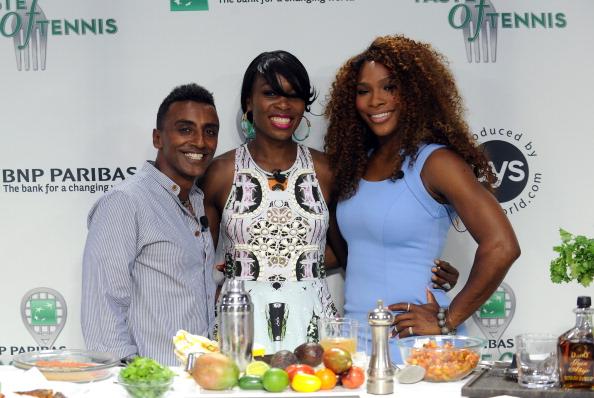 BNP Paribas「14th Annual BNP Paribas Taste Of Tennis, Hosted by Serena Williams - Inside」:写真・画像(8)[壁紙.com]