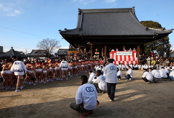 Japan「Saidaiji Temple Naked Festival Takes Place」:写真・画像(1)[壁紙.com]