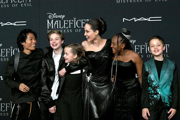 """アンジェリーナ・ジョリー「World Premiere Of Disney's """"Maleficent: Mistress Of Evil"""" - Red Carpet」:写真・画像(16)[壁紙.com]"""