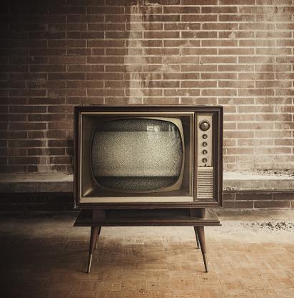 The Past「Vintage Television」:スマホ壁紙(5)