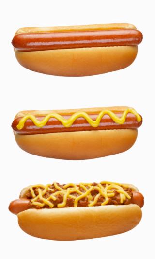 Bun - Bread「Hot Dogs on white」:スマホ壁紙(18)