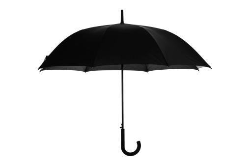 Black Color「Open umbrella」:スマホ壁紙(15)