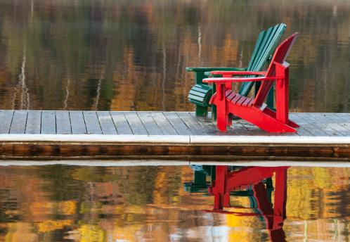 Adirondack Chair「Two Adirondack Chairs on a Dock」:スマホ壁紙(10)