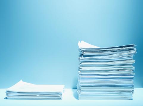 Abundance「Tall and short stacks of paper」:スマホ壁紙(11)
