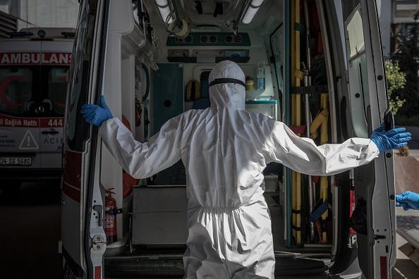 Activity「An Istanbul Hospital ICU Adapts To Fight Coronavirus Outbreak」:写真・画像(5)[壁紙.com]