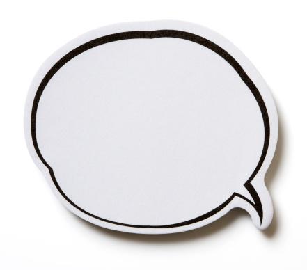 Adhesive Note「Speech Bubble.」:スマホ壁紙(17)