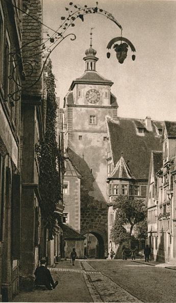Recreational Pursuit「Rothenburg o. d. T. - Weisser Turm, 1931」:写真・画像(12)[壁紙.com]
