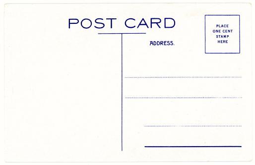 Postcard「Retro Background Image of an Vintage Antique Postcard Back」:スマホ壁紙(9)