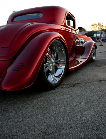 Hot Rod Car「Low '34」:スマホ壁紙(1)