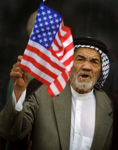 Tropical Tree「Arab Americans Demonstrate In Support Of Military Action In Iraq」:写真・画像(3)[壁紙.com]