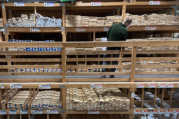 Timber「Lumber Prices Soar Leading To Rising New Home Costs」:写真・画像(7)[壁紙.com]